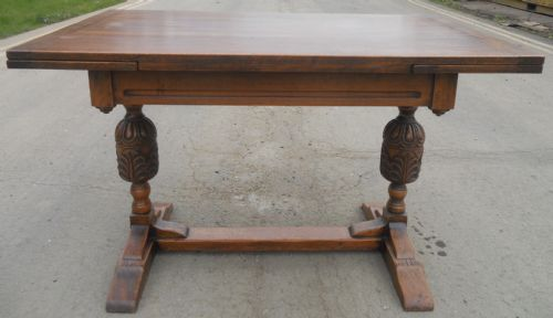 Oak Extending Dining Table by Old Charm